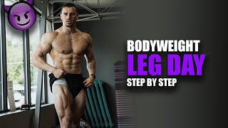 FULL Home Leg Workout in 40 Minutes | Day 3 of Training