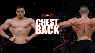 Chest & Back FIRE Bodyweight Workout | Day 5