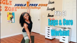 20 Min Lower Body + Abs Workout | Jiggle Free Zone