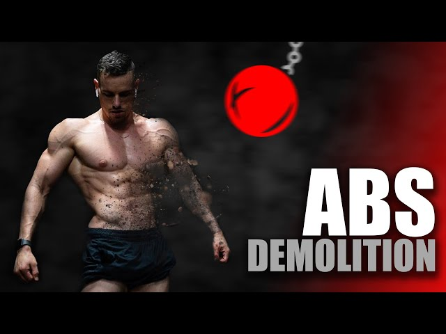 15 MIN Ab Demolition Workout | Day 4 of Workouts