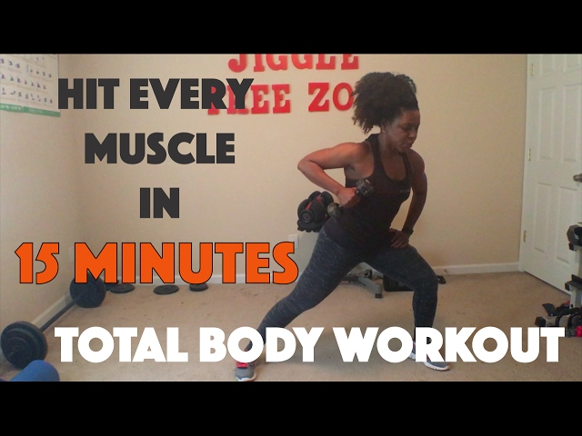 Hit Every Muscle in 15 Minutes - TOTAL BODY WORKOUT | Jiggle Free Zone